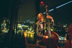 Bassist Florean Kruijswijk Jansen