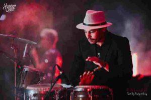 Percussionist Mr. Rejaibi
