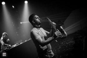 Saxofonist Ben Rodenburg