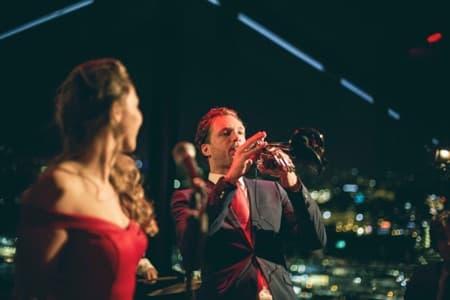 Trompettist Thomas Wessels helpt Jesse Klaver