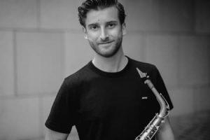 Saxofonist Tom Leeuwenburg